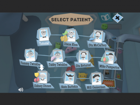 Body Systems Learning Game Dr. Guts