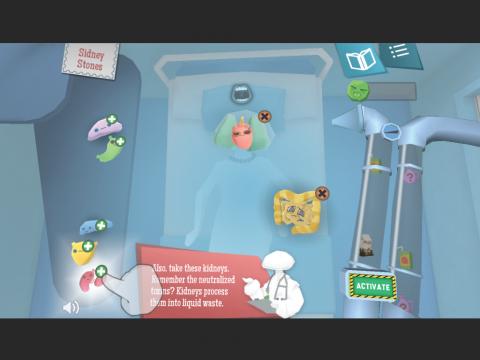 Dr. Guts Digital Learning Game