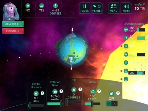 Planet Mechanic - Digital Learning Game