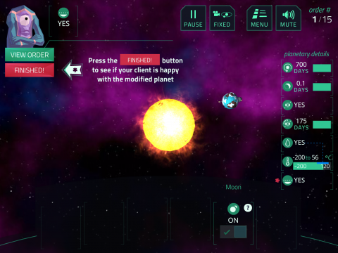 Planetary Systems Learning Game - Planet Mechanic