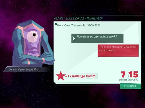Planet Mechanic Digital Learning Game