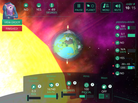 Planet Mechanic - Digital game-based learning