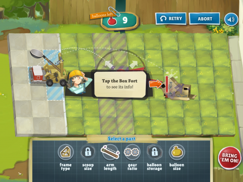 Game-based Learning Backyard Engineers