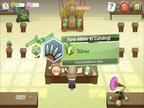 Crazy Plant Shop Game-based Learning