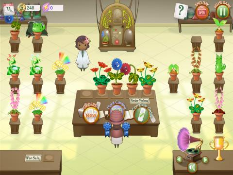 Crazy Plant Shop Educational Game