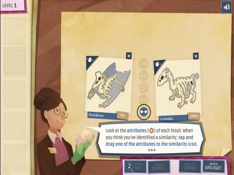 Fossil Forensics Digital Learning Game