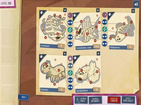 Fossil Forensics Educational Learning Game