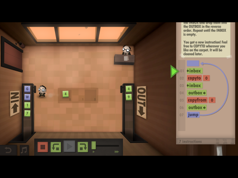 Human Resource Machine EDU Coding Fundamentals Learning Game Screenshot 3