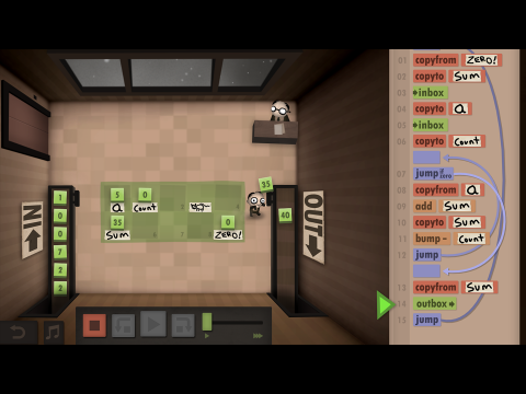 Human Resource Machine EDU Coding Fundamentals Learning Game Screenshot 4