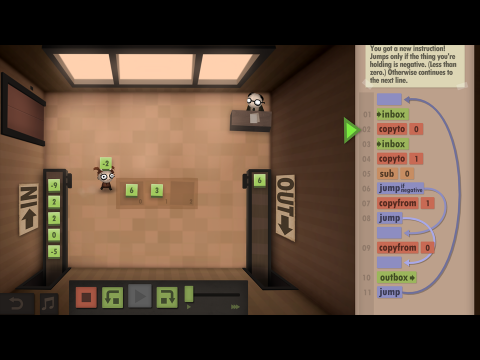 Human Resource Machine EDU Coding Fundamentals Learning Game Screenshot 6