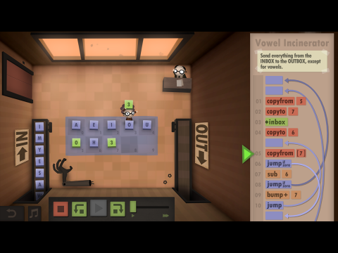 Human Resource Machine EDU Coding Fundamentals Learning Game Screenshot 7