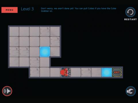Molecubes States of Matter Learning Game Screenshot 1