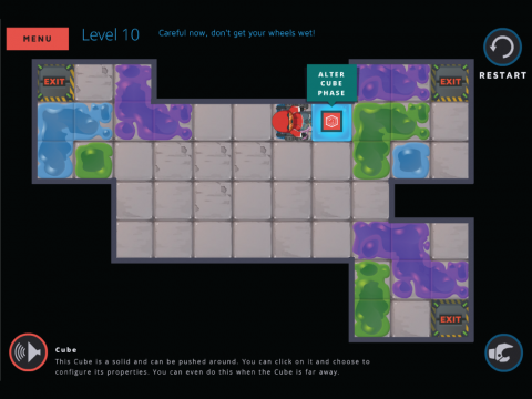 Molecubes States of Matter Learning Game Screenshot 4