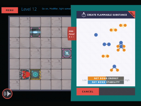 Molecubes States of Matter Learning Game Screenshot 6