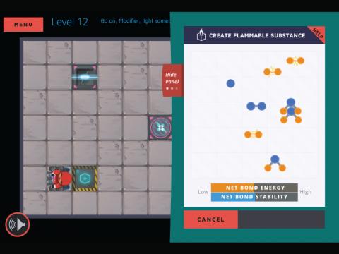 Molecubes States of Matter Learning Game Screenshot 6