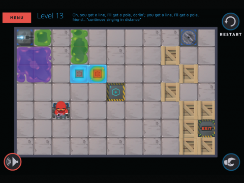 Molecubes States of Matter Learning Game Screenshot 7