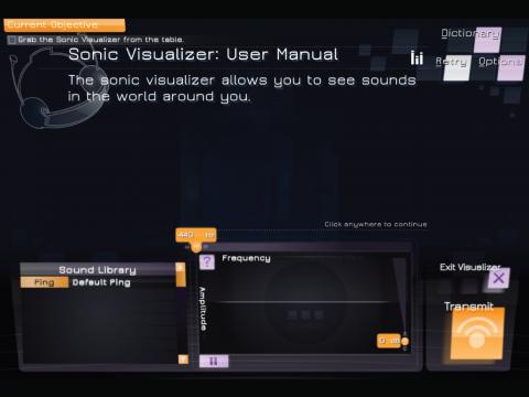 Prisoner of Echo Sound and Amplitude Learning Game Screenshot 3