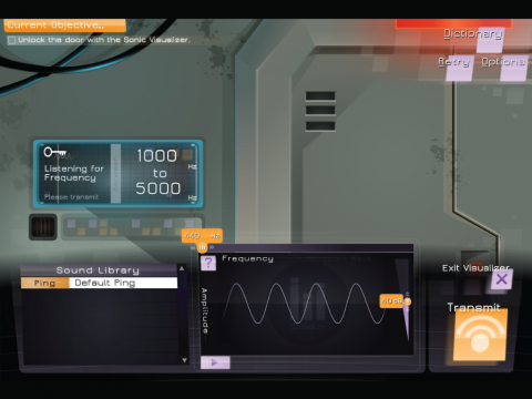 Prisoner of Echo Sound and Amplitude Learning Game Screenshot 4