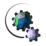 Planet Mechanic Sun, Earth, Moon System Learning Game Logo