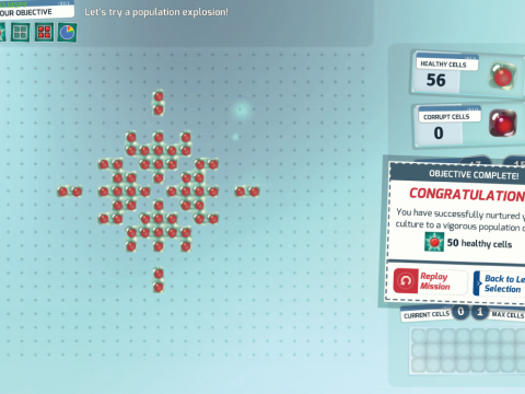 Screenshot of Conway's Challenge Gameplay - Filament Games