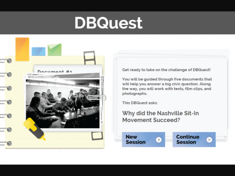 DBquest Project Screenshot 1