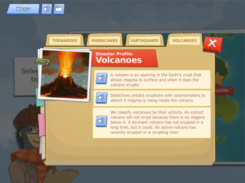 Disaster Detector Educational Game