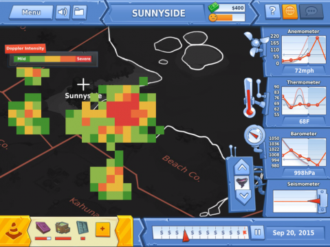Disaster Detector Learning Game