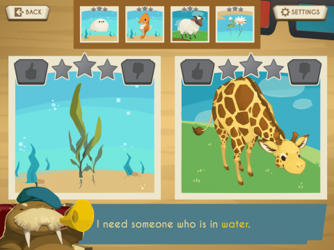 Showbiz Safari Educational Game
