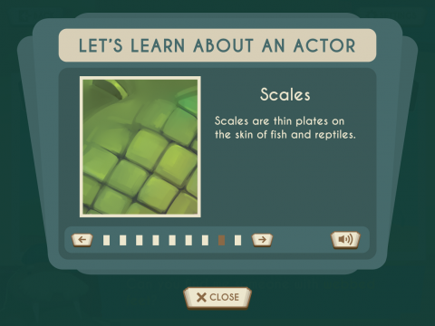 Showbiz Safari Learning Game