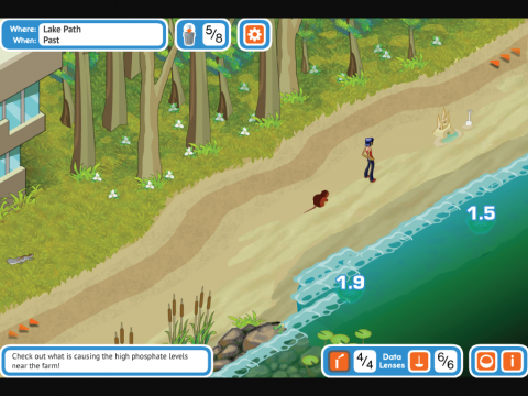 Citizen Science Digital Learning Game