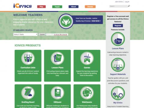 iCivics Project Screenshot 3