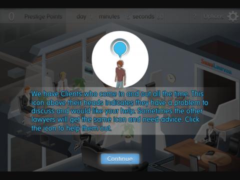 Simulawyer Project Screenshot 1