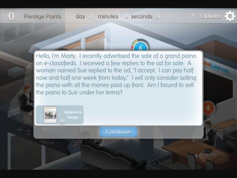 Simulawyer Project Screenshot 3