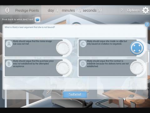 Simulawyer Project Screenshot 4
