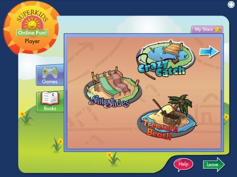 Superkids Online Fun Project Screenshot 1