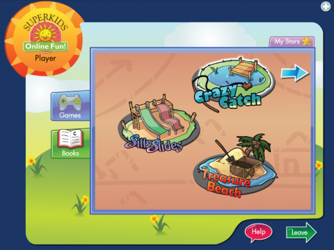Superkids Online Fun Project Screenshot 1