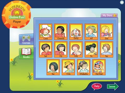 Superkids Online Fun Project Screenshot 2