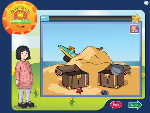 Superkids Online Fun Project Screenshot 4