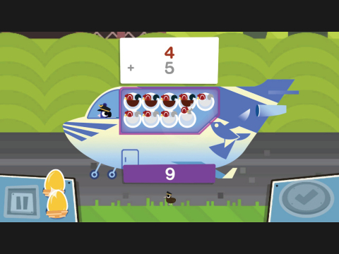 Take Off! Addition Learning Game