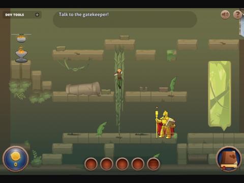 Educational Video Game Word Radier Screen Shot