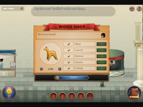 Word Raider Project Screenshot 7